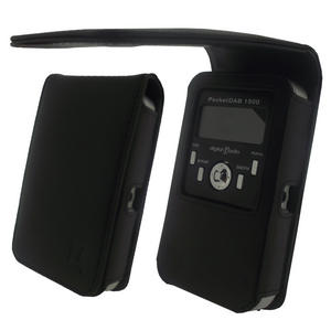 iGadgitz Leather Case Cover for Pure Pocket DAB 1500 Preview